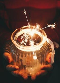 https://www.pexels.com/photo/dark-evening-fireworks-glass-282920/