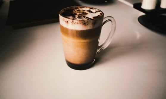 coffee mug creamy coffee thick foam