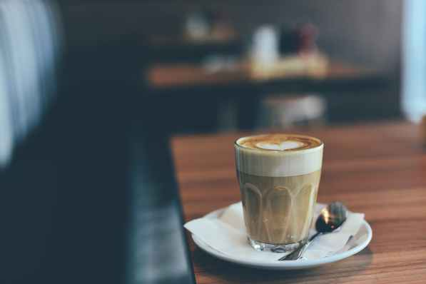creamy coffee thick foam