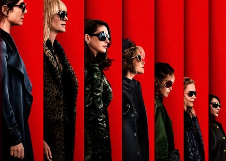 Ocean's 8 title picture all 8 members of team