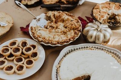 autumn favourites pies crumble tarts