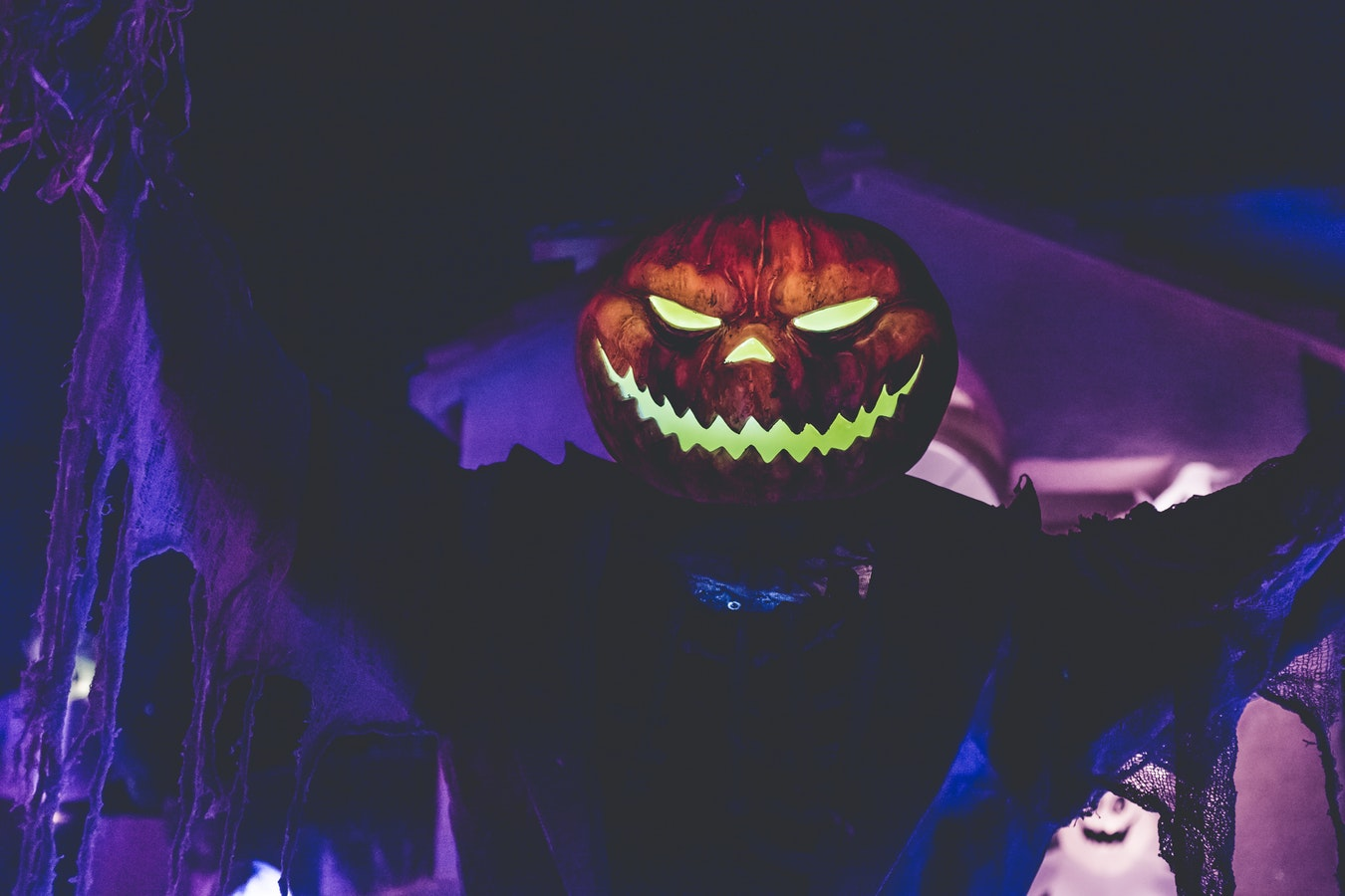 halloween and horror stories evil face pumpkin