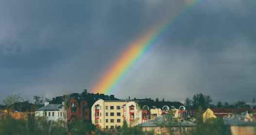 share your world rainbow