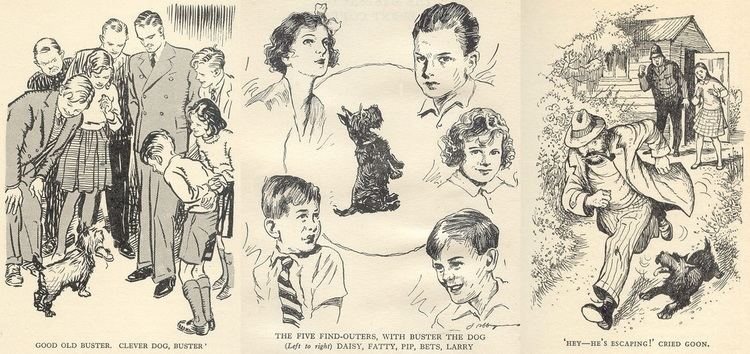 enid blyton five find outers