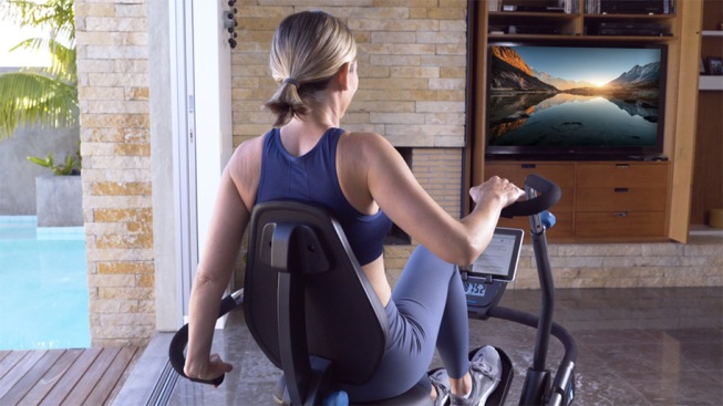 things to do while watching T V exercise bike