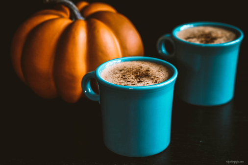 -pumpkin-spice-latte blue mugs