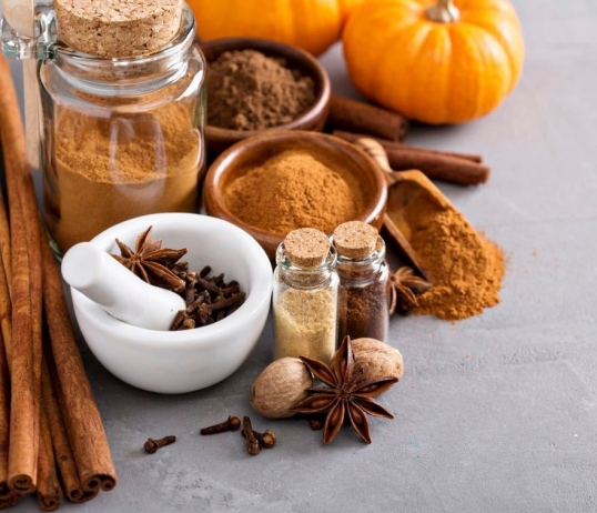 pumpkin spice latte pumpkin pie spice with ingredients