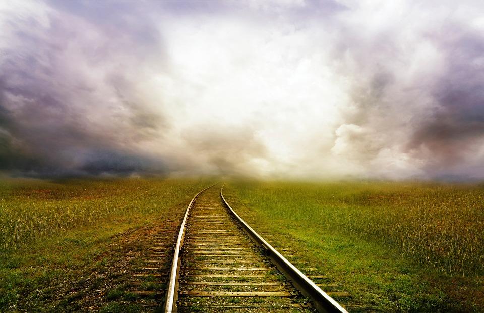 tryst railroad tracks horizon