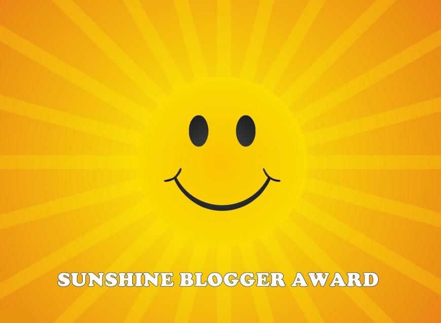 sunshine blogger award smiley face