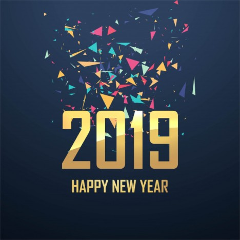 new year's resolutions Q & A beautiful-2019-new-year-card-celebration-background-vector_1035-15385