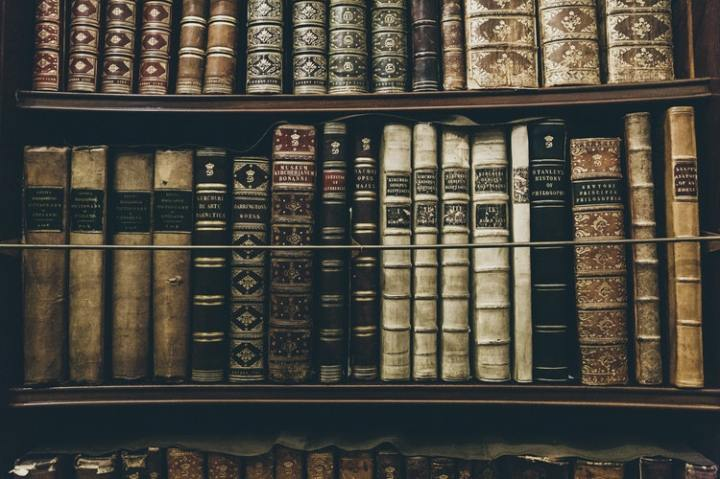 white elephant party dec 6 bookcase leatherbound volumes