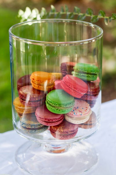 temptations coloured french macaroons