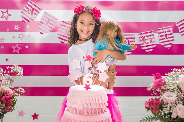 you are special girl birthday cake doll