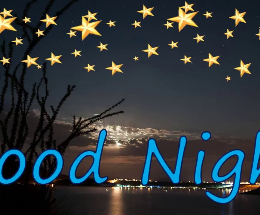 night time questions good night banner