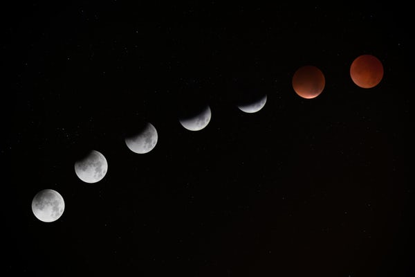 camera lunar eclipse time lapse