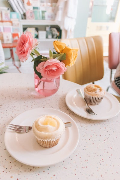 treasure muffins roses