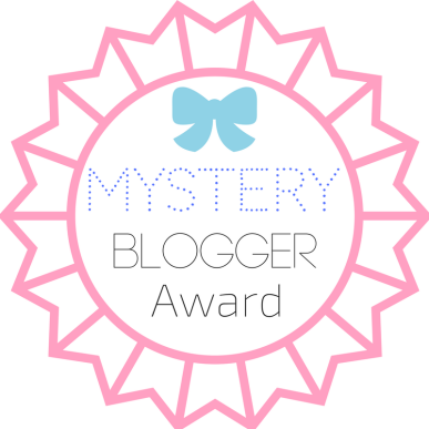 mystery blogger award bookmark
