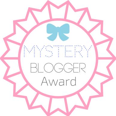 mystery blogger award bookmark