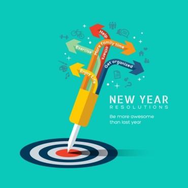 new year's resolutions new-year-s-resolutions_1207-356 bull's eye