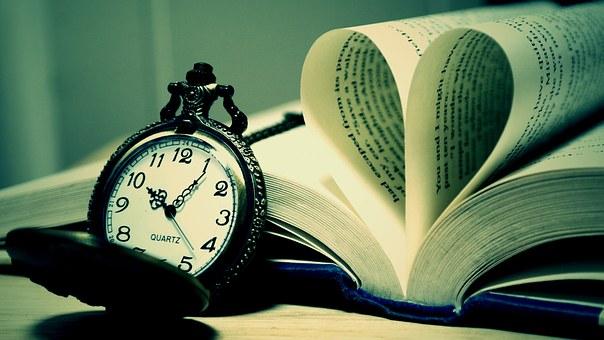 ignorance is bliss oocket watch open book