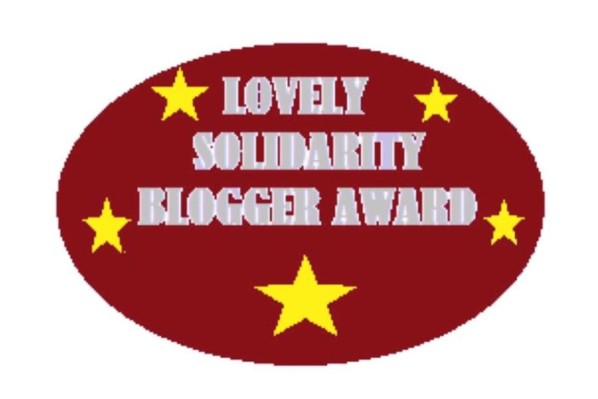 Solidarity Blogger Award