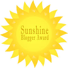 sunshine blogger award sun