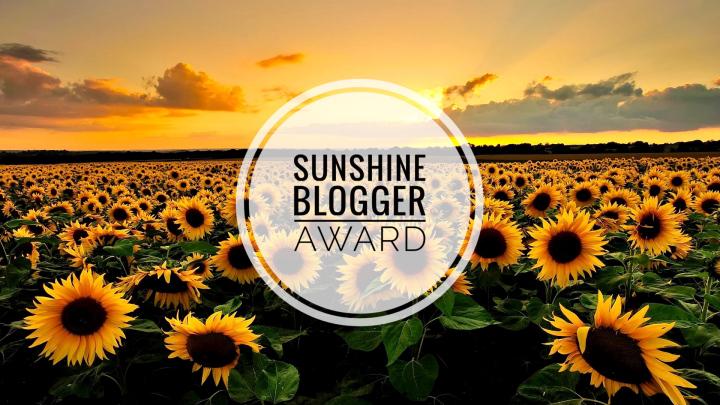 sunshine blogger award #5 sunflowers