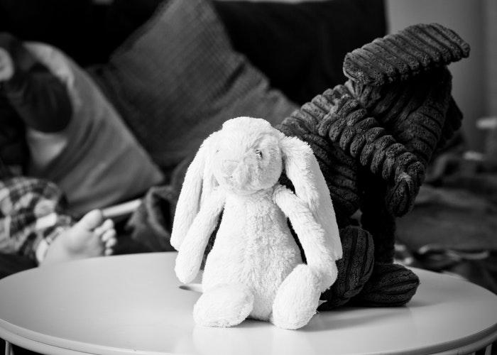 white elephant party 1 stuffed toy