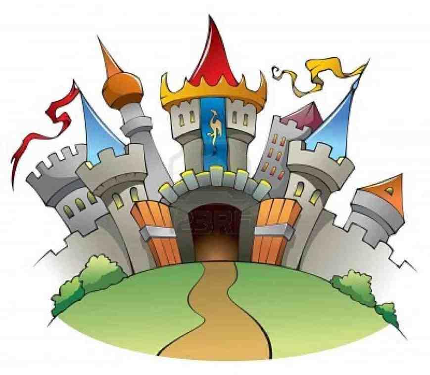fairy tales castle clip art