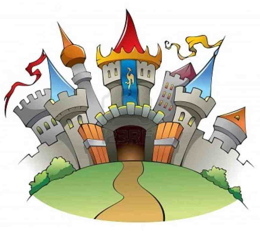 fairy tales castle clip art