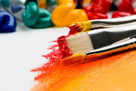 share your world paintbrushes paint