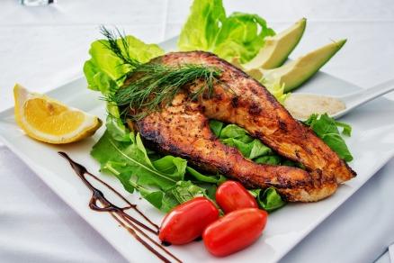 salmon veg