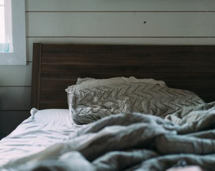 share your world unmade bed