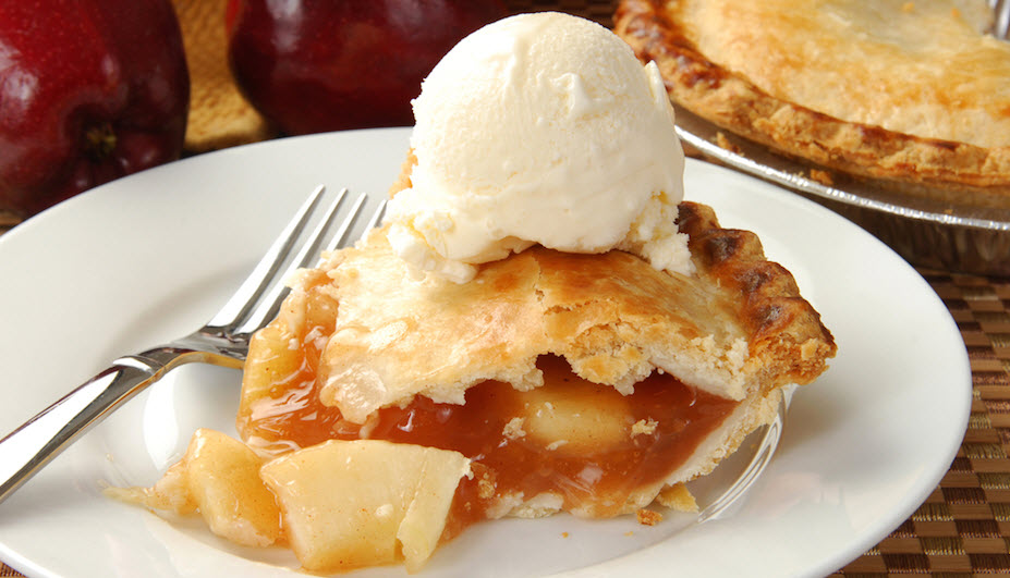 the desire for comfort food apple pie a la mode