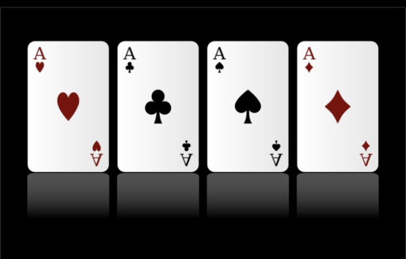 OK it is time for another Friday Four from A Guy Called Bloke! The Friday Four cards four aces