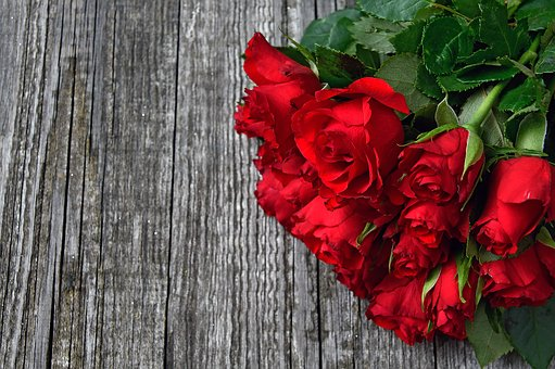 a question on valentine's day red roses