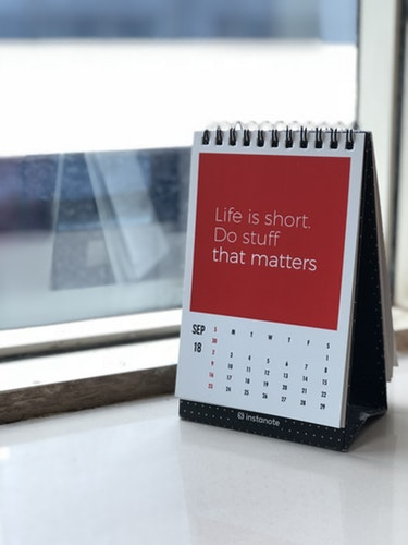 quote life is short do stuff that matters