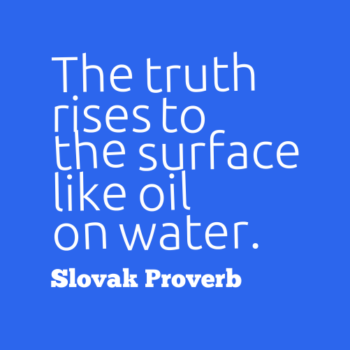 3 2 1 quote me truth quote slovak proverb