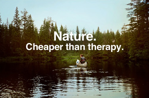 nature cheaper than therapy
