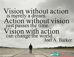 vision without action is merely a dream quote