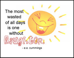 without laughter
