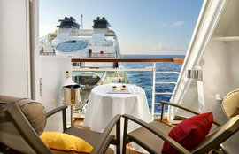 luxury aboard cruise ship
