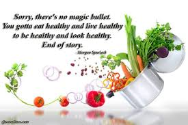 eat healthy and live healthy