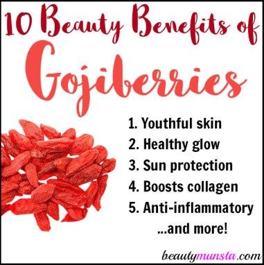 goji berries beauty benefits