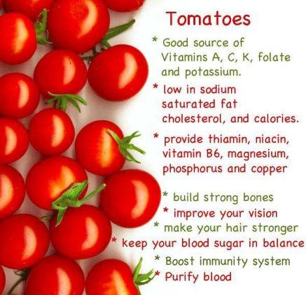 tomato health benefits
