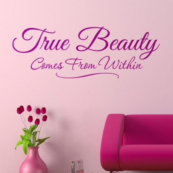 True+beauty+comes+from+within+