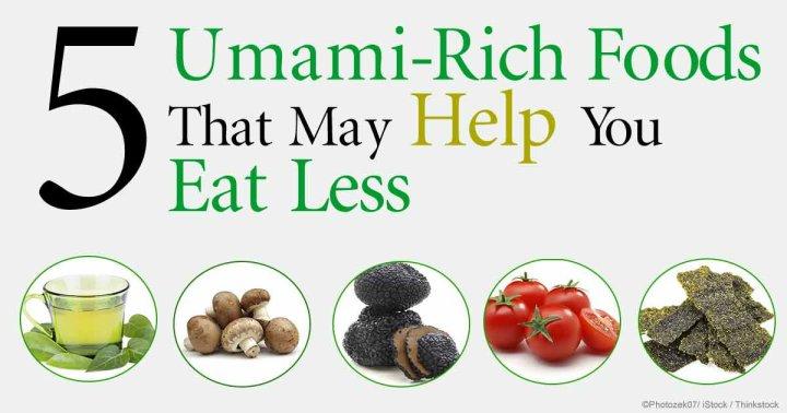 umami rich foods