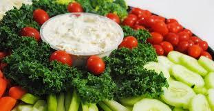 veg platter