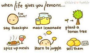 when life gives you lemons clip art