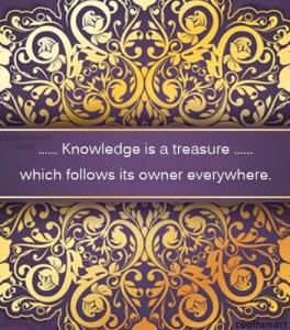 knowledge quote 2